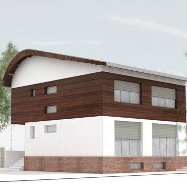 Casa pasivă din Bragadiru - proiect